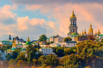 Foto op Aluminium Kiev Kiev Pechersk Lavra or the Kiev Monastery of the Caves. Kiev.