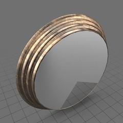 Round wall mirror 1