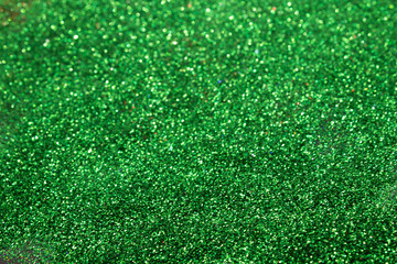 This is a Green Glitter Background