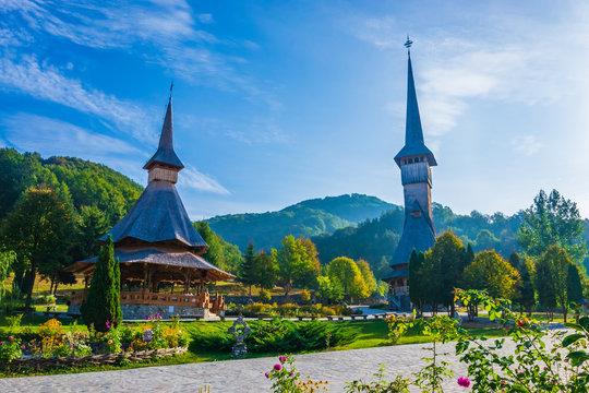 Barsana Monastery, Maramures, Romania, Europe