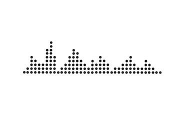 Equalizer sound waves
