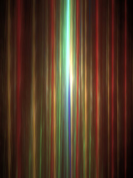 Abstract Design, Digital Illustration - Rays of Light, Parallel Lines with Alternating Colors, Minimal Background Graphic Resource, Bands of Color, Soft Gradients, Beams of colored light.