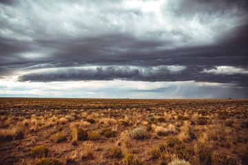 Scenic view of prairies of Colorado, United States, USA