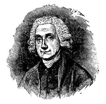 Joseph Priestly vintage illustration