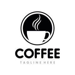 Coffee, Coffe Shop, Cafe Logo Design Inspiration Vector