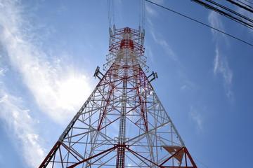 首都圏の送電線