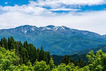 日本三名山 霊峰白山