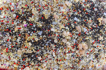 Selective Focus Arabic Mix Spice Background