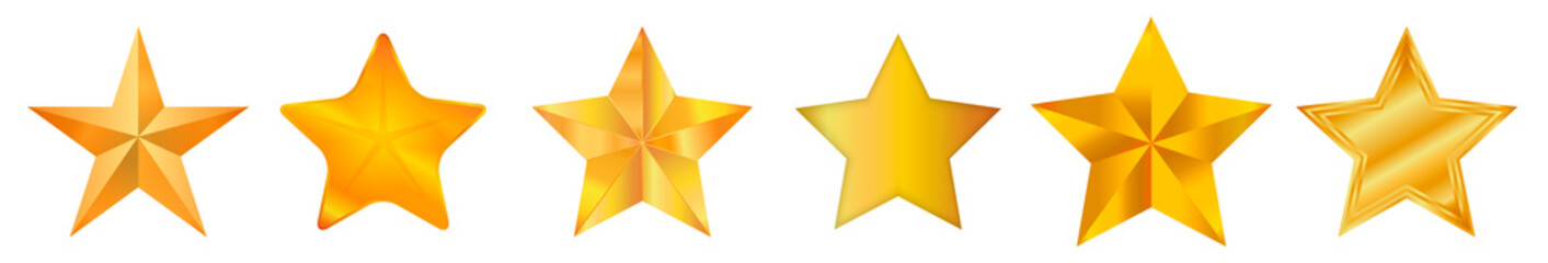 Star / Star-icon / Star-vector / Star set Vector illustration.