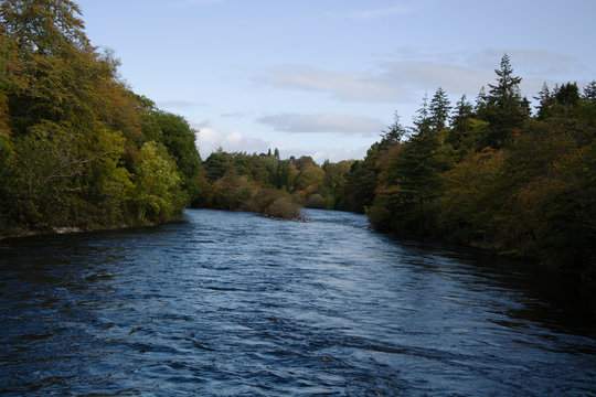 River Ness and the Ness Islands