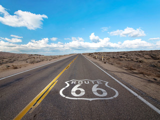 Photo sur Aluminium Route 66 Route 66