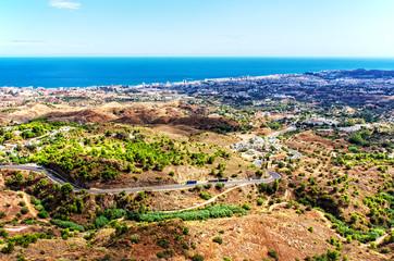 Fuengirola von Mijas gesehen