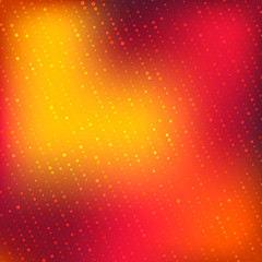 Abstract bright colors minimal mosaic background with halftone gradient effect. Vector illustration.