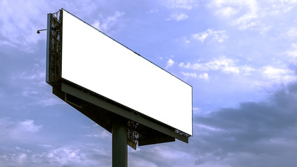 huge horizontal Billboard mock up,UPS, conceptual Poster for your advertising.