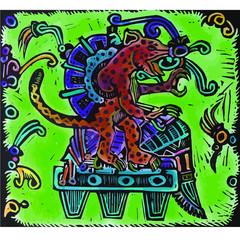 Poster Imagination Decoración precolombina