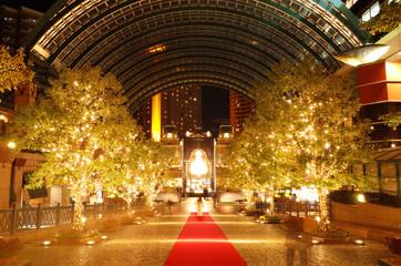 【東京の夜景】恵比寿ガーデンプレイスのイルミネーション