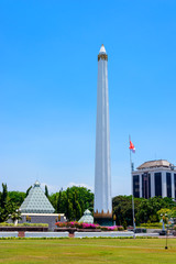 The Heroes Monument (Tugu Pahlawan) is a monument in Surabaya, Indonesia. It is the main symbol of the city, dedicated to the people who died during the Battle of Surabaya on November 10, 1945.