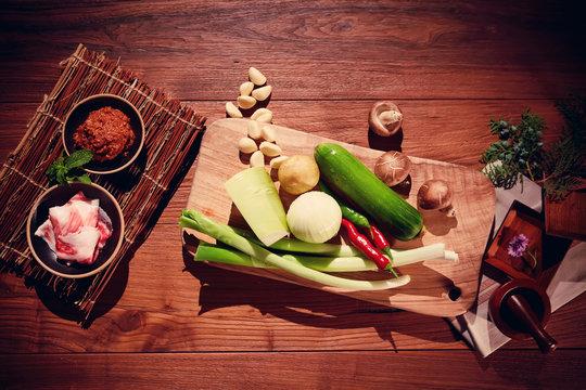 한국 음식 재료