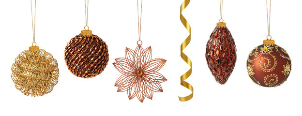 Luxury Christmas baubles