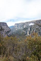 Blick in die Vikos-Schlucht im Pindos-Gebirge