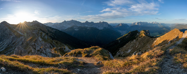 Alpenpanorama im Karwendel
