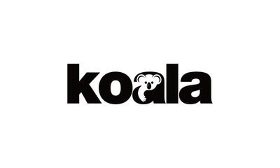 koala logo design inspiration - Vector