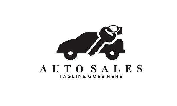 auto sales logo Vectors Royalty design inspiration
