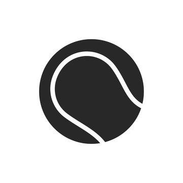 Tennis ball icon vector symbol illustration EPS 10