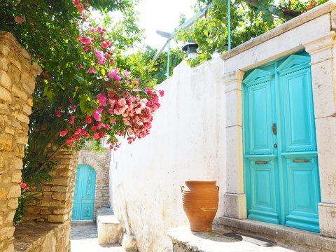 Straße in Symi - Griechenland