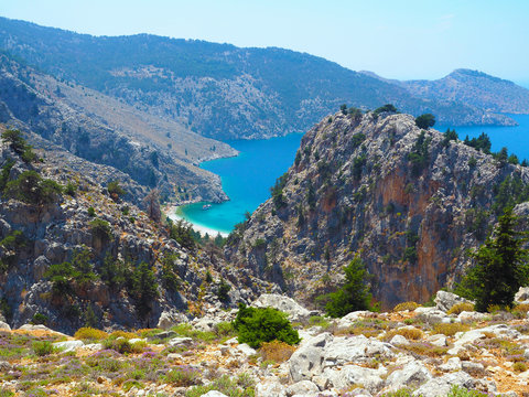 Symi - Agios Vasilios Beach
