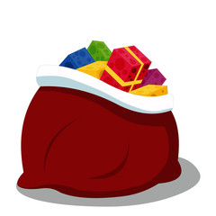Christmas Gifts - Cartoon Vector Image