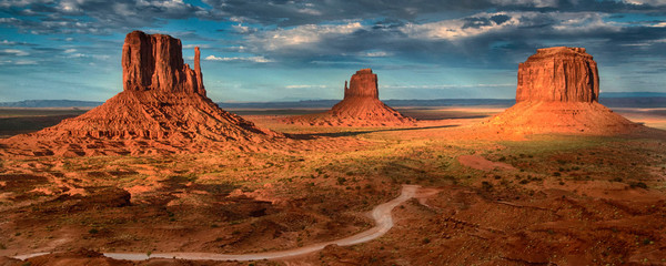 Foto op Canvas Arizona Monument Valley