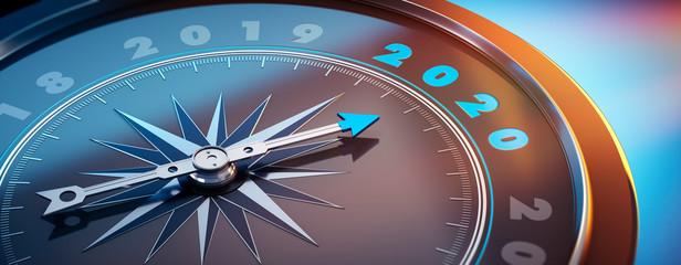 Dunkler Kompass - 2019 2020