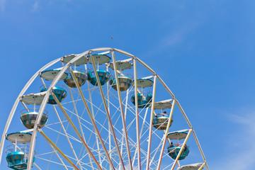 Detail eines Riesenrads