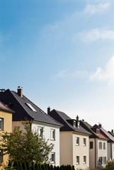 Häuser in einem Wohngebiet