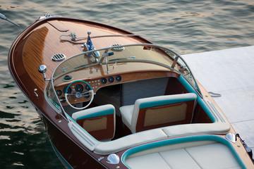 Fototapeta Riva boat