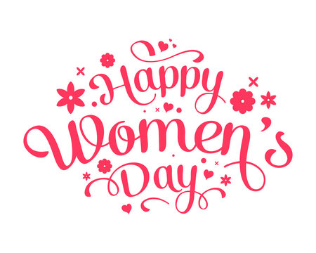 International Women's Day 8th of March day of women in the world