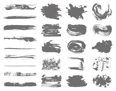 Brush Stroke Paint Ink Vectors
