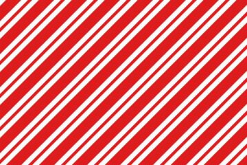 Diagonal stripes pattern. Simple Christmas background