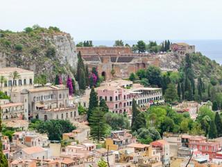 Taormina in Sicily Fototapete