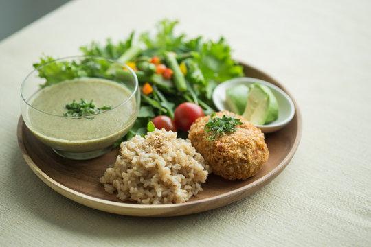 オーガニック野菜料理