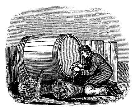 Penny Wise and Pound Foolish, vintage illustration