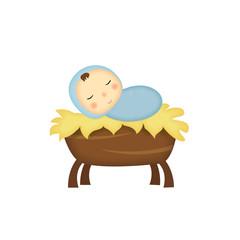 illustrazione Gesù bambino