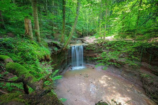 Blick auf den Hörschbachwasserfall in der Hörschbachschlucht