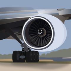 High Bypass Jet Engine