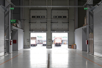Interior Distribution Warehouse