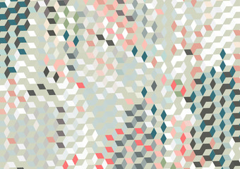 Vector, geometric abstract background texture design, bright poster with triangles and lines, spots, circles and shapes. Fotoväggar