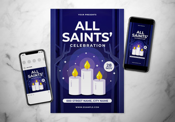 All Saints Day Event Flyer