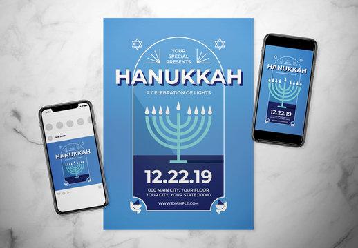 Hanukkah Event Flyer