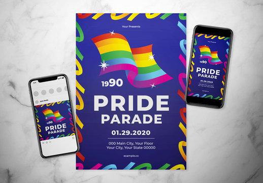 Rainbow Event Flyer